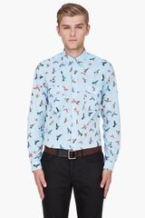 McQ by Alexander McQueen Birds Shirt