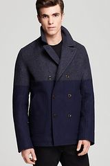 Paul Smith Peacoat - Lyst