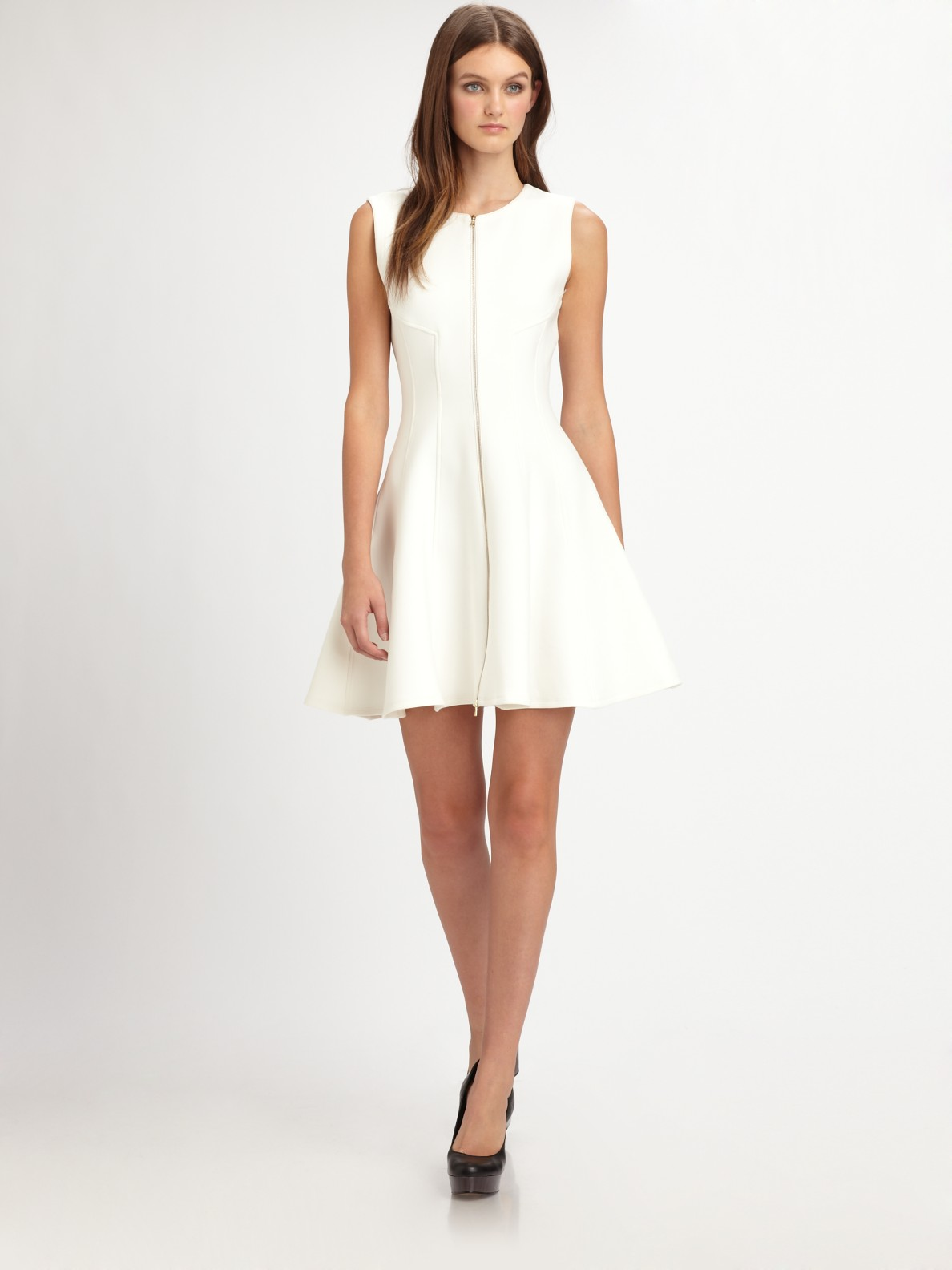 Theory White Dress