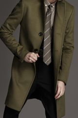 Burberry Long Wool Cashmere Top Coat - Lyst