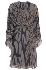 Elie Saab Printed Kaftan Dress