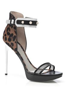 Jason Wu Accessories  Nadja Ankle Studded Platform Sandal - Lyst