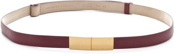 Marc By Marc Jacobs Push Lock Belt - Lyst