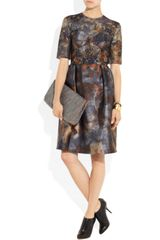 Mulberry Tie Dye Satin and Lace Dress in Multicolor (multicolored) - Lyst