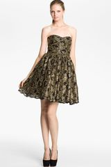 Alice + Olivia Caryn Full Skirt Dress - Lyst