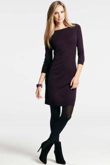 Black Sweater Dress on Ann Taylor Black Tall Rhapsody Sweater Dress