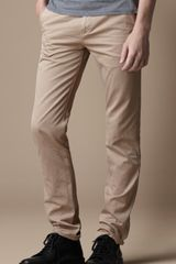 Burberry Brit Skinny Fit Chino Trousers - Lyst