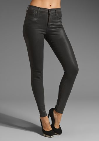 Citizens Of Humanity Rocket High Rise Coated Skinny - Lyst