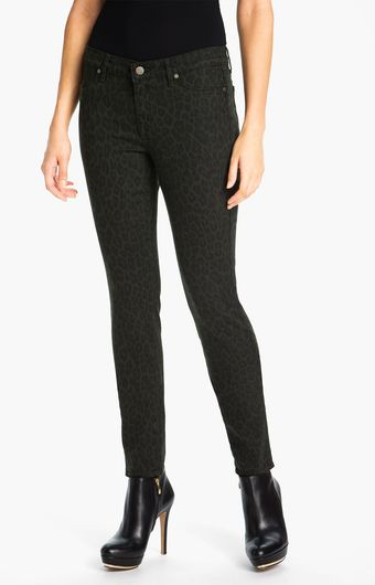 Cj By Cookie Johnson Joy Animal Print Stretch Denim Leggings - Lyst