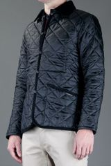 Lavenham Husky Quilted Jacket in Black for Men - Lyst