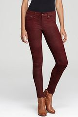Rag & Bone Pants The Leather Skinny Slim - Lyst