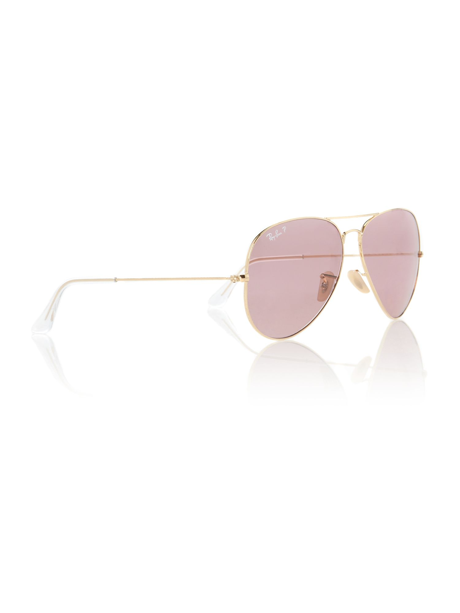 Polar 1 Sunglasses  ray ban mens 62 polar aviator sunglasses in pink for men lyst
