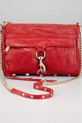 Rebecca Minkoff Mac Goatskin Clutch Bag - Lyst