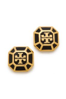 Tory Burch Rylan Stud Earrings - Lyst