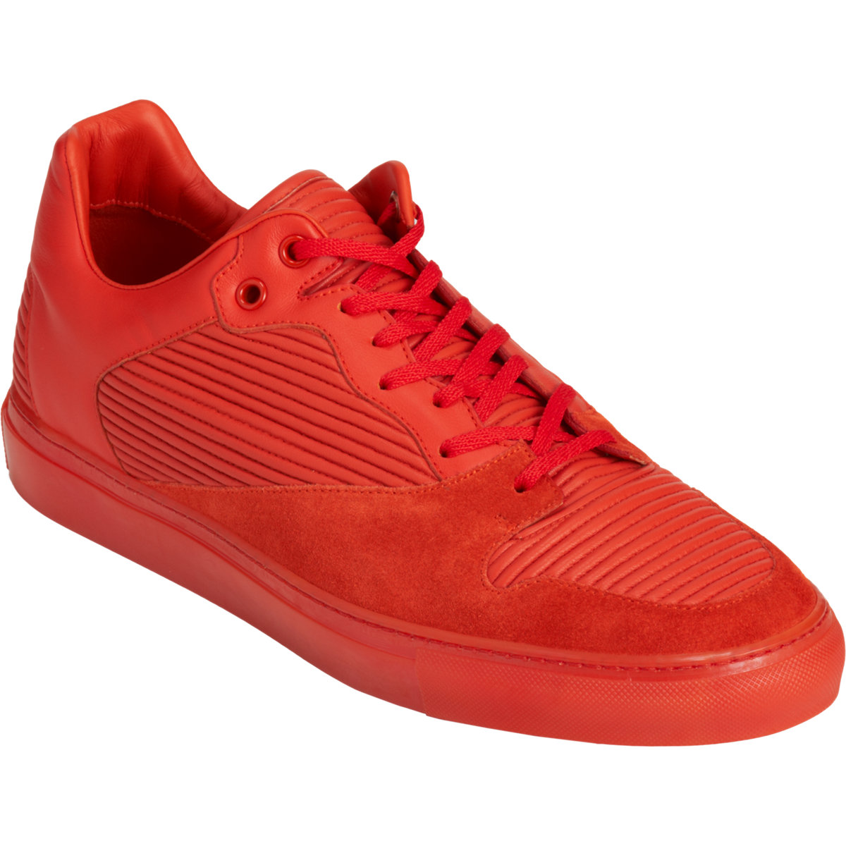 balenciaga low top sneaker in orange for men lyst. Black Bedroom Furniture Sets. Home Design Ideas