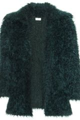 Dries Van Noten Mascara Mohair Jacket