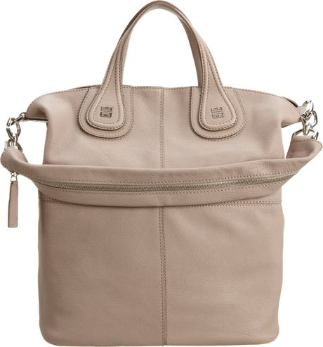 Givenchy Nightingale Shopper Tote in Gray (grey)
