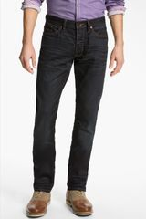 John Varvatos Bowery Slim Straight Leg Jeans Ink in Blue for Men (color list having 1 item inkink) - Lyst