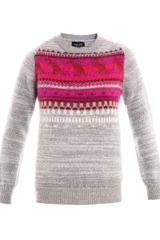 Sophie Hulme Dino Mohair and Wool Sweater - Lyst