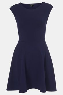 Topshop Skater Dress - Lyst