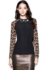 Tory Burch Allison Top - Lyst
