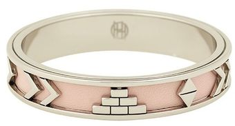 House Of Harlow Aztec Bangle with Blush Leather - Lyst