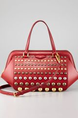 Marc By Marc Jacobs Thunderdome Daily Stud Bag - Lyst