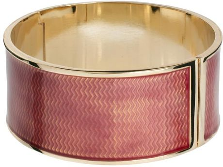 Love Moschino Large Colour Block Bracelet in Pink