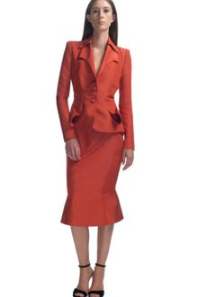 Zac Posen Cayenne Fitted Dinner Jacket - Lyst