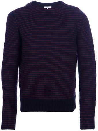 Carven Button Detail Sweater - Lyst