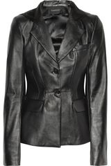 Thakoon Hooded Leather Blazer - Lyst