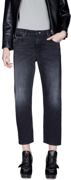 Acne Pop Vintage Black Jeans in Blue (black) - Lyst