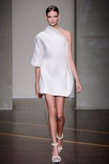 Gianfranco Ferré Spring 2013 Runway Look 1 in  - Lyst