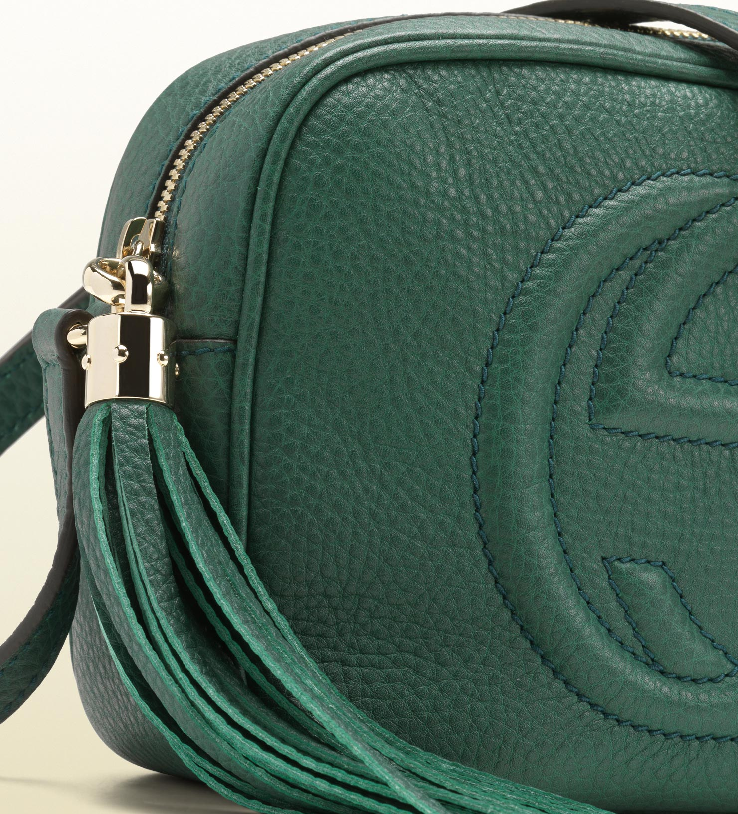 Gucci Soho Dark Green Disco Bag In Green Lyst