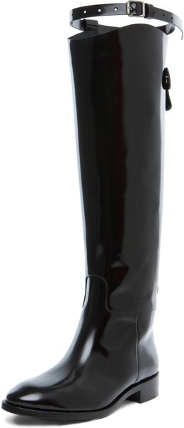 Acne Parker Boot in Black - Lyst