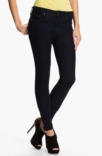 Blue Essence Color Skinny Jeans - Lyst
