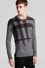 Burberry Brit Udimore Exaggerated Check Sweater - Lyst