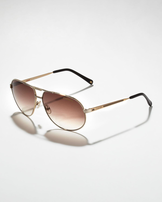 57a9e96502e5 Lyst - Carrera Master 2 Aviator Sunglasses in Metallic for Men