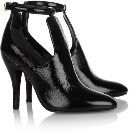 Gucci Patent leather Pumps in Black - Lyst