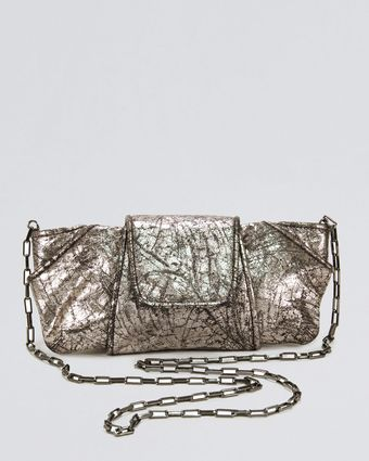 Kooba Metallic Lame Clutch Bag - Lyst