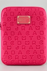 Marc By Marc Jacobs Dreamy Logo Neoprene Tablet Case - Lyst