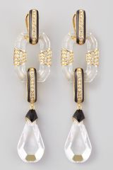 Rachel Zoe Glass Drop Earrings - Lyst