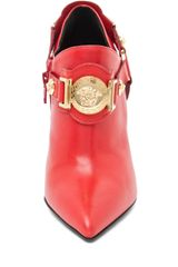 Versace Harness Bootie in Red in Red - Lyst