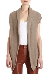 Barneys New York Co-op Cashmere Vest - Lyst