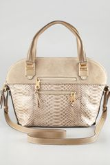 Chloé Angie Python Medium Shoulder Bag - Lyst