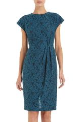 L'Wren Scott Floral Lace Dress - Lyst