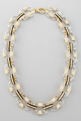 Rachel Zoe Lucitelink Necklace - Lyst