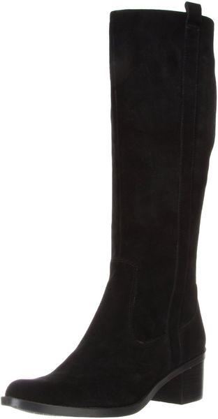 Calvin Klein Calvin Klein Womens Haydee Suede Boot in Black