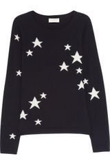 Chinti And Parker Starintarsia Cashmere Sweater - Lyst