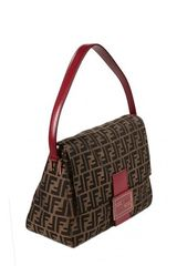 Fendi Big Mammy Chef Bag in Red - Lyst